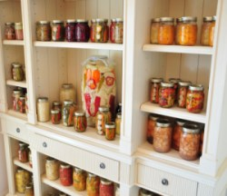jars on shelf