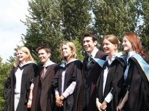 smiling grads