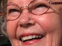 smiling grandma