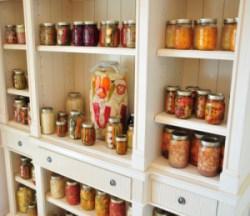 jars on shelf