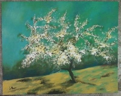 Apple tree (first impressionist piece)